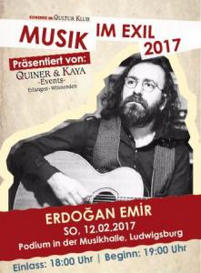 Erdogan Emir Podium in der Musikhalle